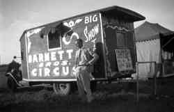 Barnette Bros. Circus ticket office