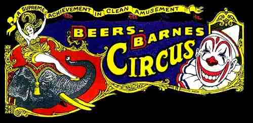 Beers and Barnes Circus