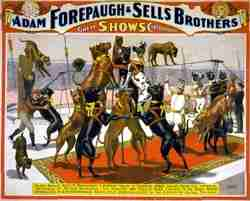 Forepaugh and Sells Bros. Circus