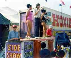 Hoxie Bros. Circus Sideshow