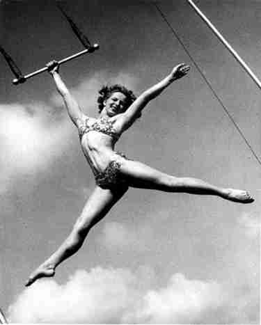 Circus Aerialist and Performer La Norma Fox