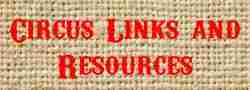 Circus Links and Resources