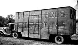 Russell Bros Circus showtruck
